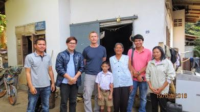 Photo: Lee Kingston with Scholarship boy Kasemsuk in Mae Ai