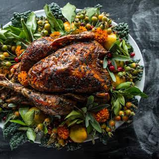 Thanksgiving Roasted Turkey.