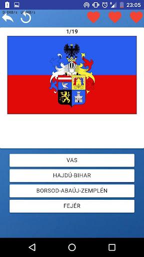 Comitats de Hongrie - quiz,tests,cartes,drapeaux APK MOD (Astuce) screenshots 2