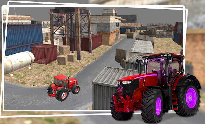 android Industrial Simulator Tractor Screenshot 1
