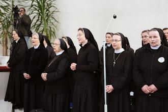 Photo: Spievame na slávu Božiu.