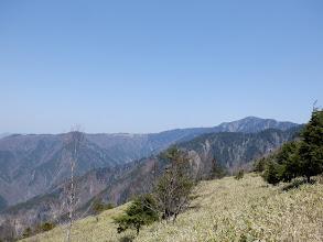 中ノ尾根山(右)