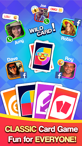 Card Party - Uno Friends & Family Crazy 8 Free androidiapk screenshots 1