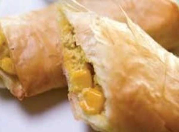 Tuna And Corn Pillows Recipe