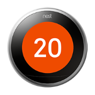 Nest thermostat farsight target temperature