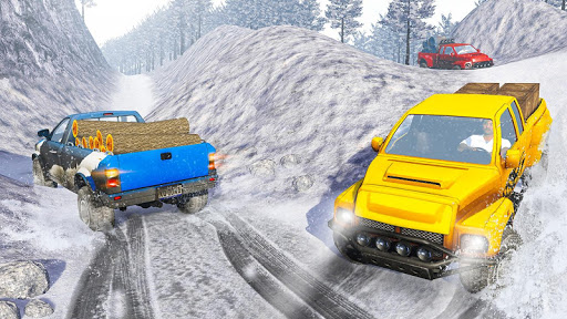 Snow Truck Simulator: Off Road Monster Truck Games android2mod screenshots 12