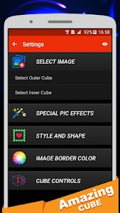 Amazing Cube Lwp Lite screenshot 4