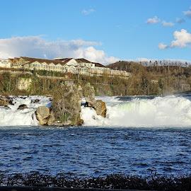 Rhine Falls by Radisa Miljkovic - City,  Street & Park  Vistas