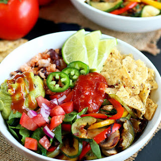 Grilled Veggie Taco Bowl