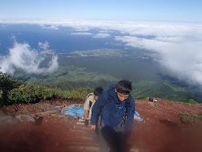 Photo: 利尻登山へ