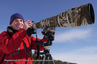 Photo: Andreas on the job in Yellowstone National Park, Wyoming