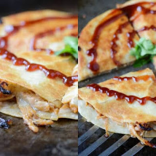 Pulled Pork and Caramelized Onion Quesadillas Recipe