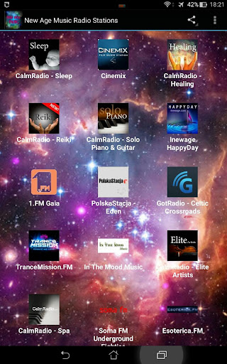 New Age Music Radio Stations
