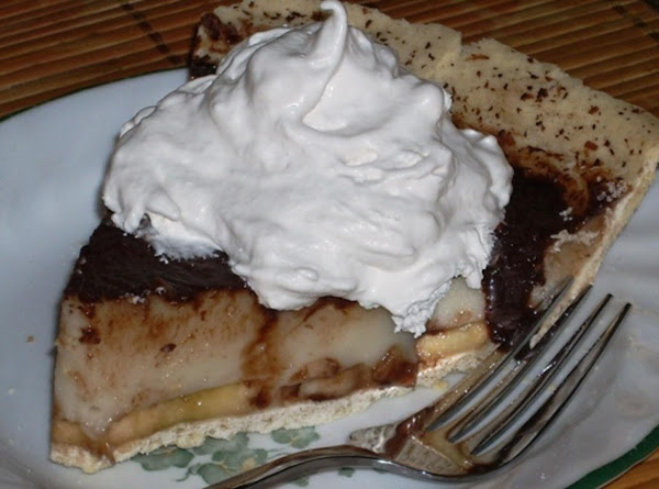 Vanilla Banana Coconut Cream Pie Recipe