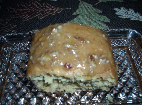 Orange Peach Bread With Peach Nut Glaze Recipe