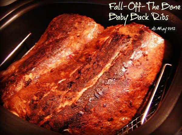 Fall-off-the Bone Baby Back Ribs, Rub & Bbq Sauce