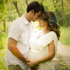 Deep in Love by Jess Anderson - People Maternity ( maternity, family, pregnancy, pregnant, young couple )