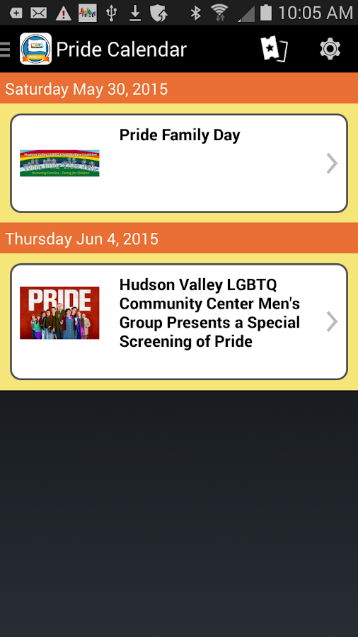 Hudson Valley Pride- screenshot