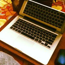 Photo: March 17: Laptop Keyboard  I like the reflection