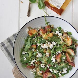 North African Inspired Spicy Potato Salad.