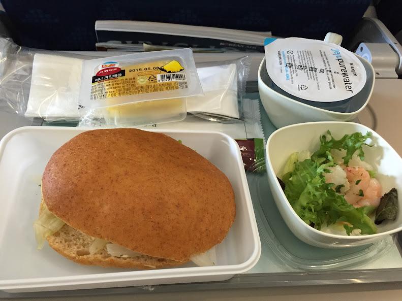 大韓航空 機内食