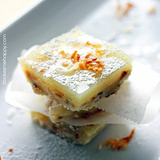 Toasted Coconut Lime Bars.