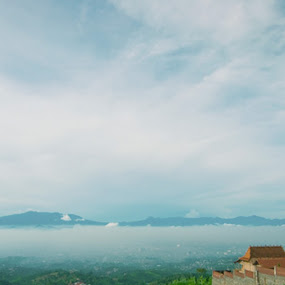 Cartil by Ignatius Kukuh - Landscapes Mountains & Hills ( a bove sky, cartil, bandung )
