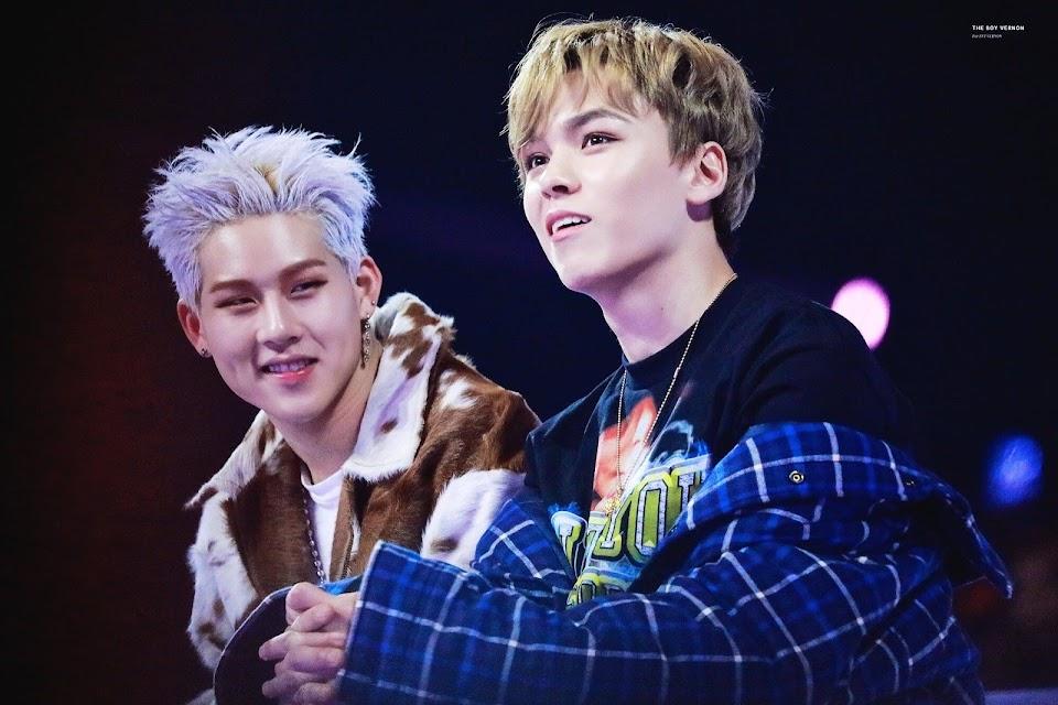 monsta x jooheon seventeen vernon