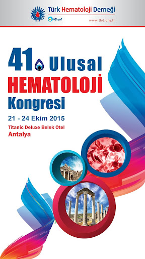 41. Ulusal Hematoloji Kongresi