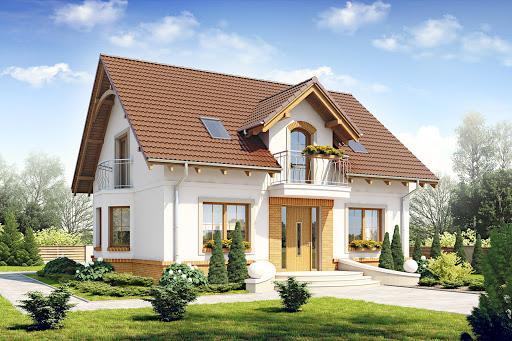 projekt Dom Dla Ciebie 1 w2 bez garażu B