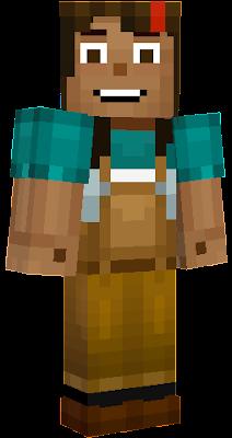 minecraft story mode jesse nova skin