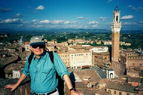 Photo: A Top The Duomo (Cathedral), Sienna, Italy (September 2001)