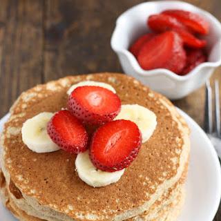 Whole Wheat Pancakes.