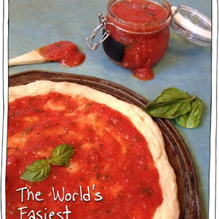 The World's Easiest 5 Minute Pizza Sauce!