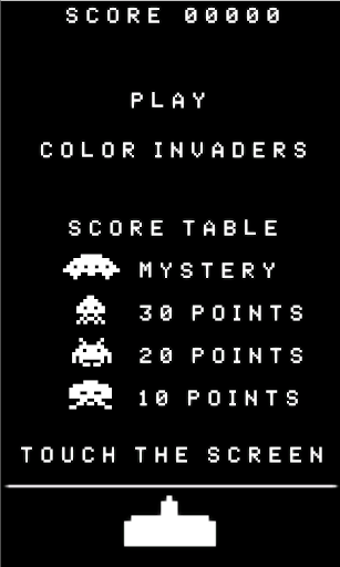 COLOR INVADERS