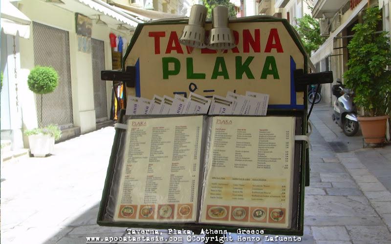 Photo: Taberna, Plaka, Atenas