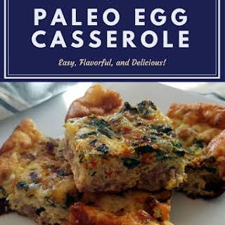 Paleo Egg Casserole.