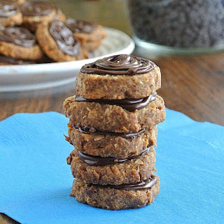 Island Chocolate Topped Cookies