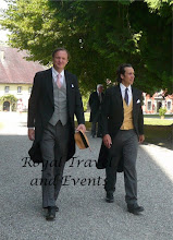 Photo: on the right Count Karl zu Solms-Laubach