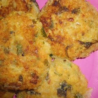 Leftover Tabouli Salad Patties