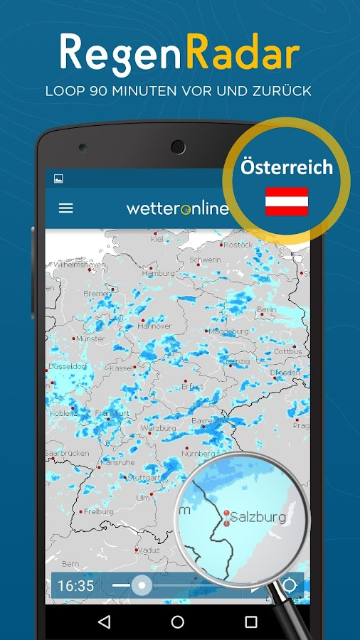 RegenRadar- screenshot