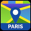 Mapas de viajes a París icon