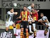 Steeven Willems reageert op de strafschop die tot puntenverlies leidde