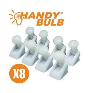 Set 8 becuri reci Handy Bulb fara fir cu intrerupator