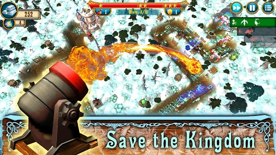 Fantasy Realm TD: Tower Defense Mod Apk (Unlimited Money) 4