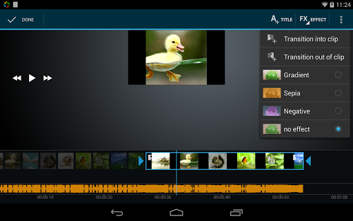 Video Maker Movie Editor screenshot 9