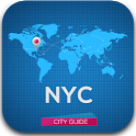 NYC Guide New York Map Weather icon