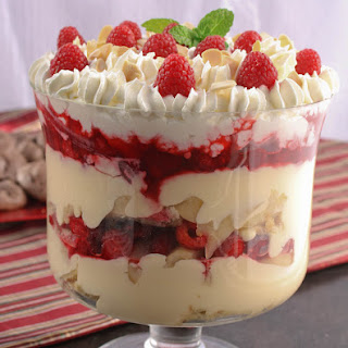 English Christmas Trifle.