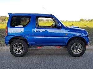 ジムニー JB23W X-Adventure XC(クロスアドベンチャーXC JB23-8型)パールメタリックカシミールブルー初年度登録 2012年(平成24年)4月のカスタム事例画像 Compact Blue さんの2019年11月02日20:01の投稿