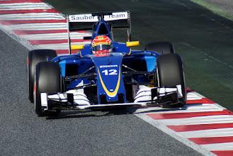 Photo: Felipe Nasr - Sauber F1 Team